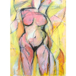 Woman in Yellow III For Sale
