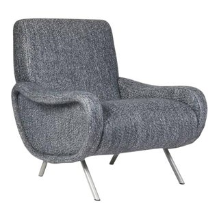 Italian Mid-Century Lounge Chair For Sale