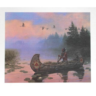 Duane Bryers, Morning Flight, Lithograph For Sale