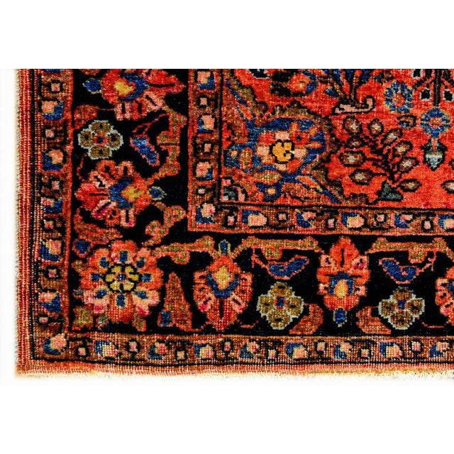 Exceptional Early 20th Century Petite Sarouk Rug - 2′2″ × 2′8″ - Image 2 of 5
