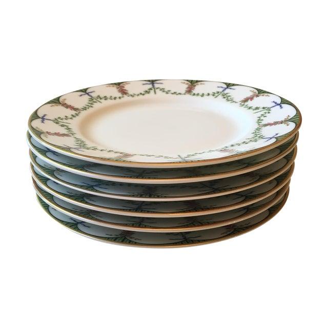Ceralene Raynaud Festivite Bread Plates - Set of 6 For Sale