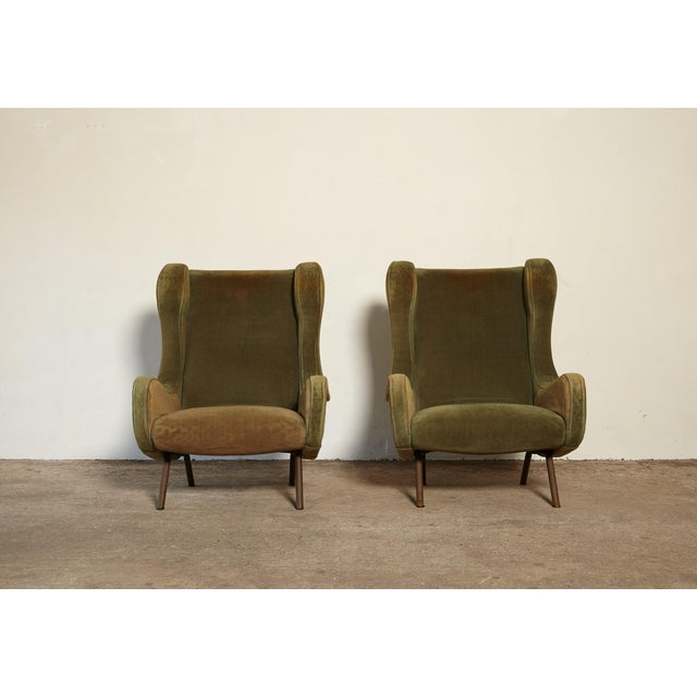 Arflex 1960s Vintage Arflex Marco Zanuso Senior Chairs - a Pair For Sale - Image 4 of 10