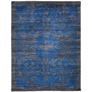 """Shalimar, Hand Knotted Area Rug - 8' 1"""" x 10' 5"""" For Sale"""