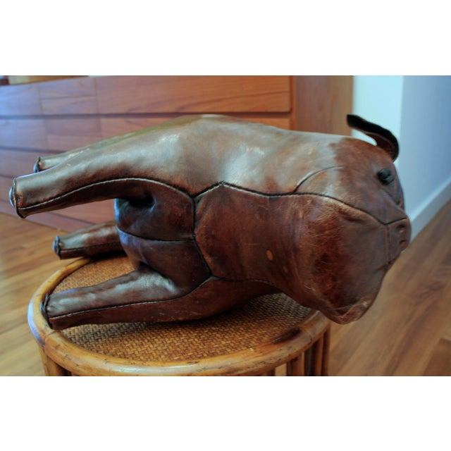 Abercrombie and Fitch Dimitri Omersa Leather Bulldog For Sale - Image 11 of 12