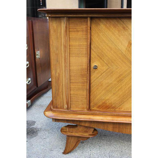 French Art Deco Rosewood sideboard / Credenza Circa 1940s For Sale - Image 5 of 10