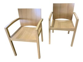 Image of Oak Dining Chairs