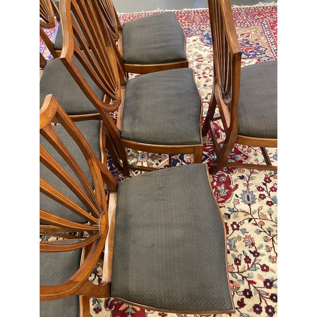 Early 20th Century Irving & Casson Dining Chairs - Set of 8 For Sale - Image 9 of 13