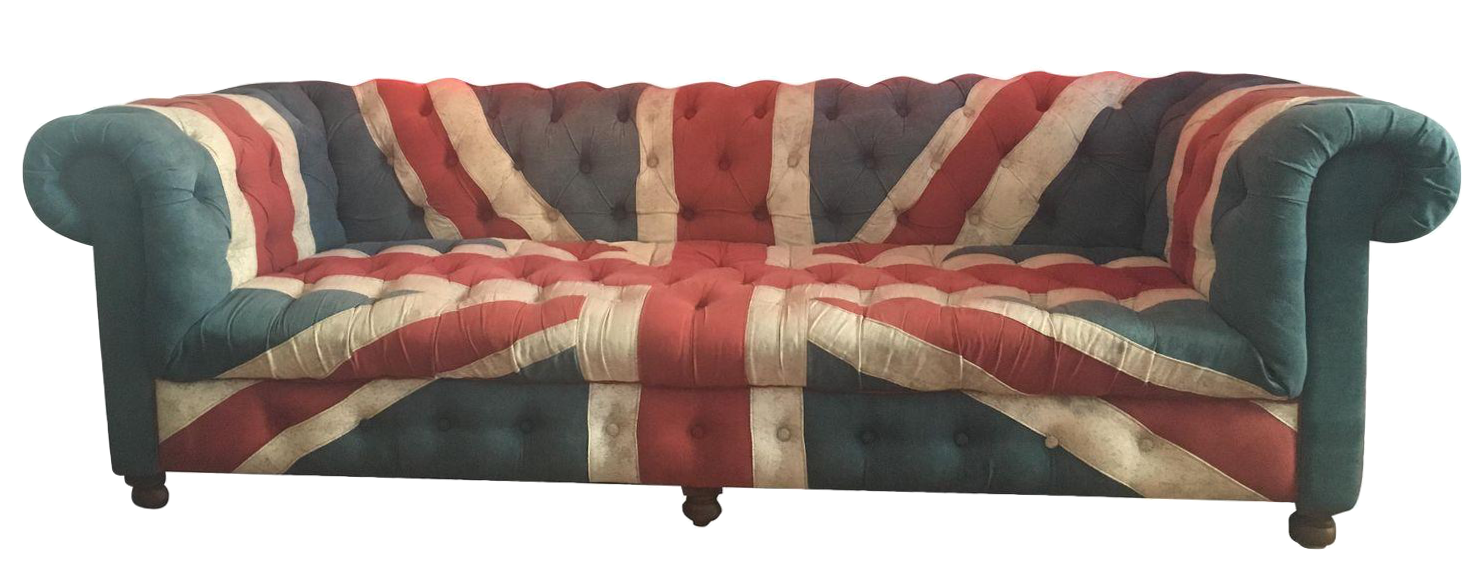 Very Timothy Oulton Custom Union Jack Couch for ABC Carpet & Home  WM21