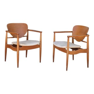 Mid Century John Stuart Chairs - a Pair For Sale