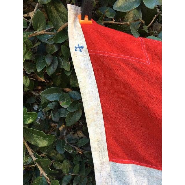 Danish Nautical Pennant Flag - Image 4 of 6