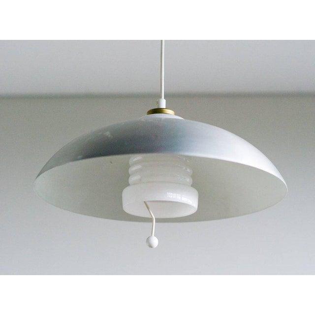 Mid-Century Modern Counterbalance Pendant Lamp by Nordiska Kompaniet, (Nk), Sweden, 1950s For Sale - Image 3 of 6