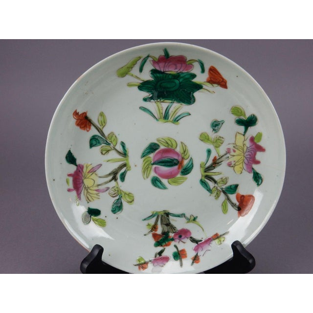 Antique Chinese Qing Dynasty Plates - Set of 3 - Image 8 of 11