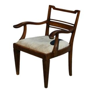 Mahogany Arm Chair attributed to Lajos Kozma For Sale