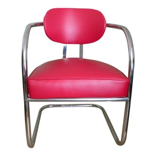 Mid-Century Chromcraft Cantilever Chair For Sale