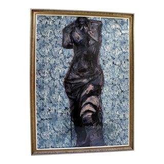 Contemporary Modern Framed 9 Views of Winter by Jim Dine