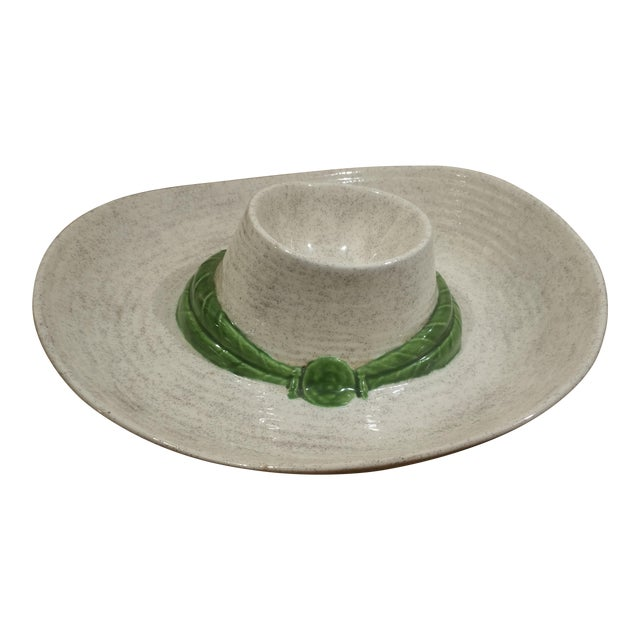 Ceramic Sombrero Chip & Dip Dish - Image 1 of 5