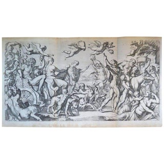 17th Century Engraving by Carlo Cesion For Sale