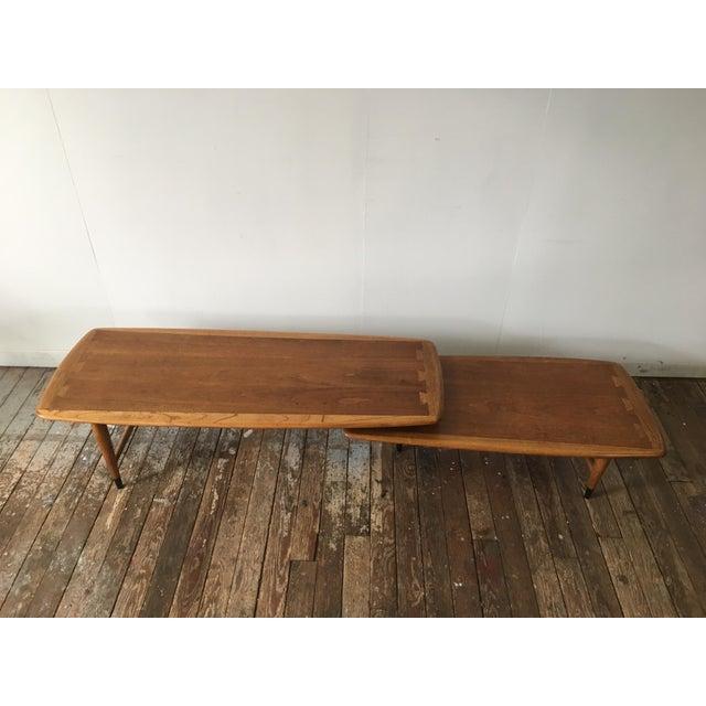 Used Lane Coffee Table: Lane Acclaim Switchblade Swivel Coffee Table