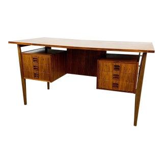 Danish Rosewood Desk For Sale
