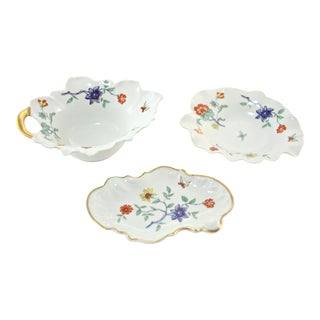 French Haviland Limoges Trinket Dishes - Set of 3 For Sale