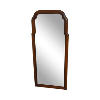 Henkel Harris Solid Cherry Vintage Queen Anne Style Mirror For Sale