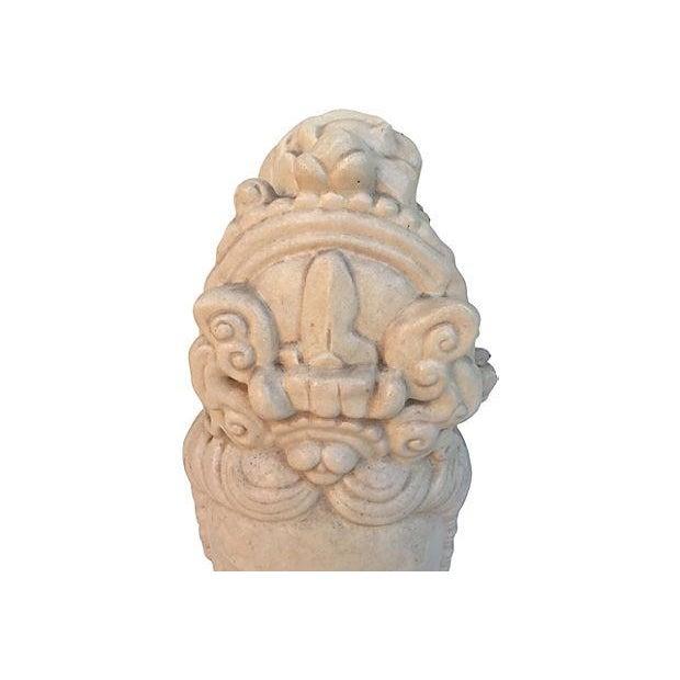 Chinese Ivory Terracotta Buddha Head - Image 5 of 7