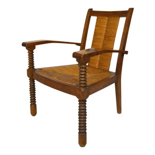 1950s Modernist Art Deco Armchair For Sale