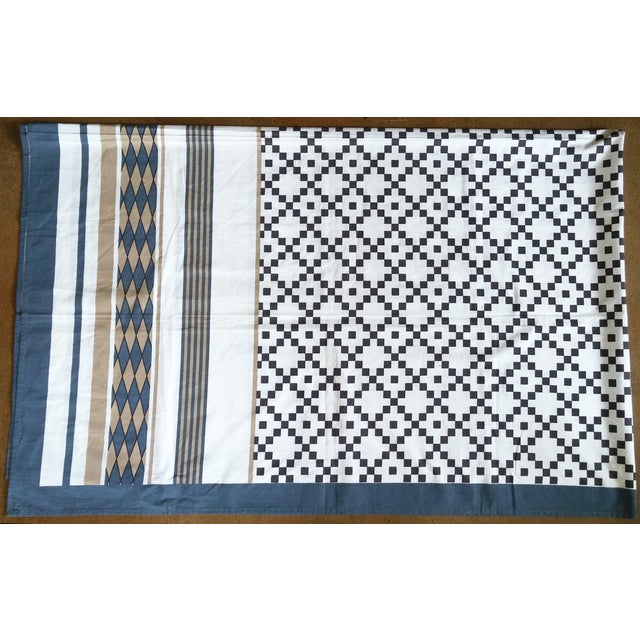 Patterned Neutrals Table Cover - Image 2 of 3