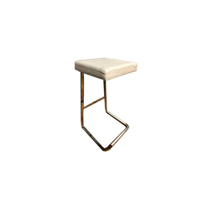 Mies Van Der Rohe: Four Seasons Stool - A Pair - Image 4 of 7