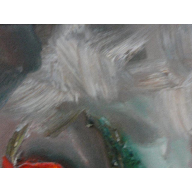 Mid Century Ballerina Abstract Painting - Image 3 of 10
