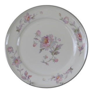 1950s Limoges Silvermoon Dinner Plate Marked For Sale