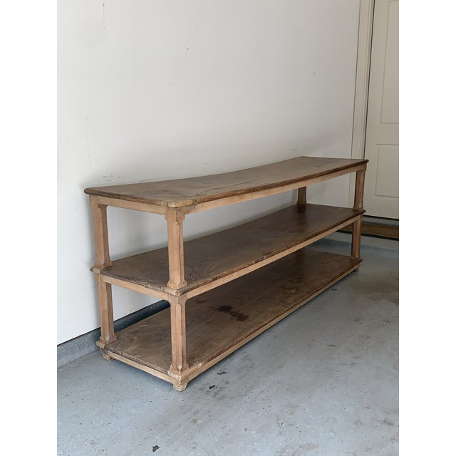 Brown Late 19th Century French Draper Table For Sale - Image 8 of 12