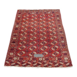 Red Tekke Main Carpet - 7′4″ × 9′4″ For Sale