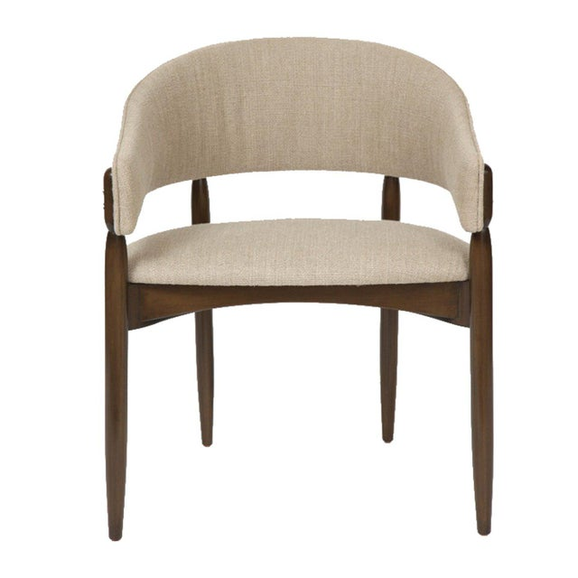 Mid-Century Modern Set of 12 Enroth Dining Chairs For Sale - Image 3 of 5