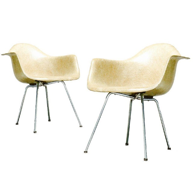 Last Call 1951 Eames Roped Edge Dax Zenith Armchairs - a Pair For Sale In New York - Image 6 of 6