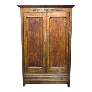 1920s Antique Early American Cupboard For Sale