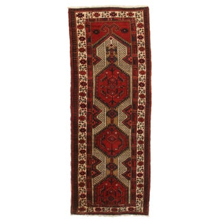 "Vintage Persian Sarab Wool Runner - 3'4"" X 6'5"" For Sale"