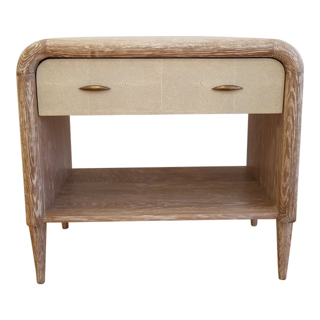 Mid-Century Modern Made Goods Pierre Double Nightstand For Sale