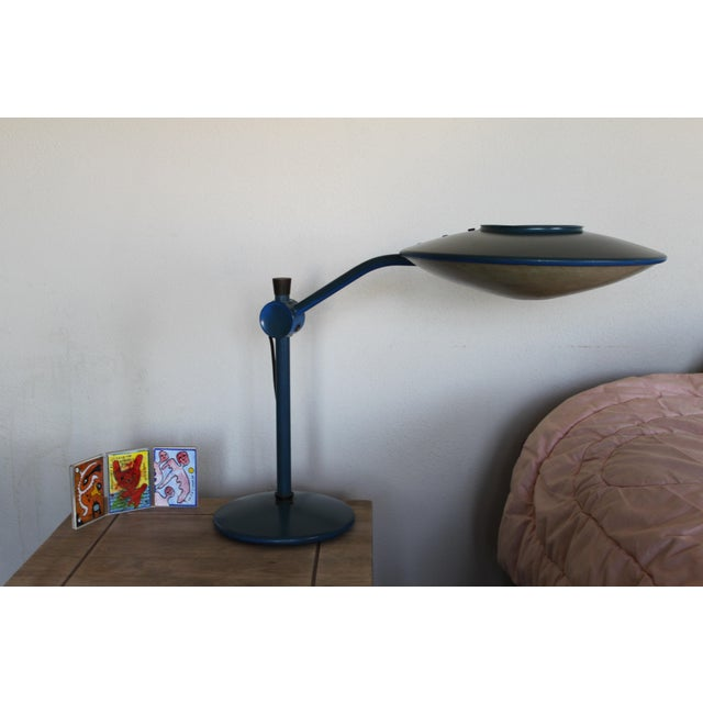Industrial Dazor Flying Saucer Lamp For Sale - Image 3 of 11