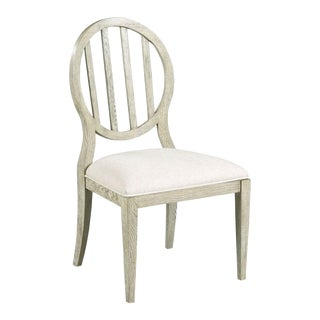 Modern Luna Finish Emma Side Chair For Sale