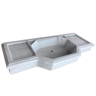 Antique Marble Sink | Reclaimed Marble Basin For Sale