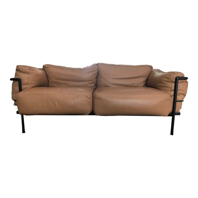 Vintage Le Corbusier for Alivar Lc2 Sofa For Sale