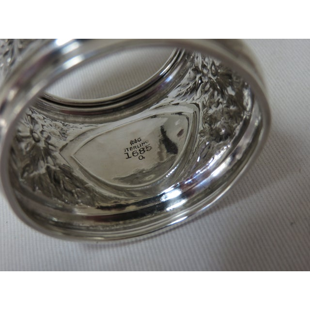 Late 19th Century Antique Gorham Sterling Silver Napkin Ring For Sale - Image 5 of 6