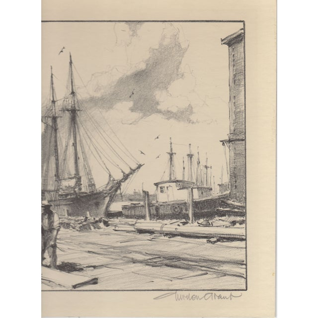 Gordon Grant Lithograph c.1930's - Image 3 of 4