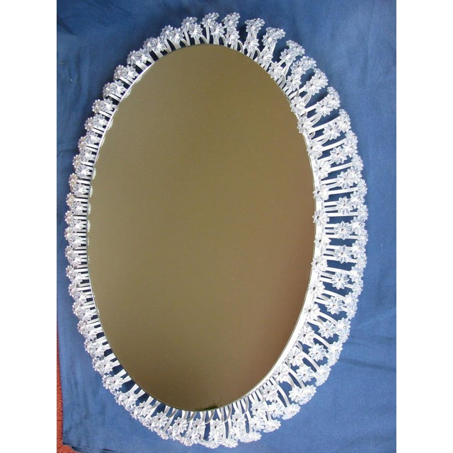1960s Oval Illuminated Mirror by Emil Stejnar For Sale - Image 5 of 9