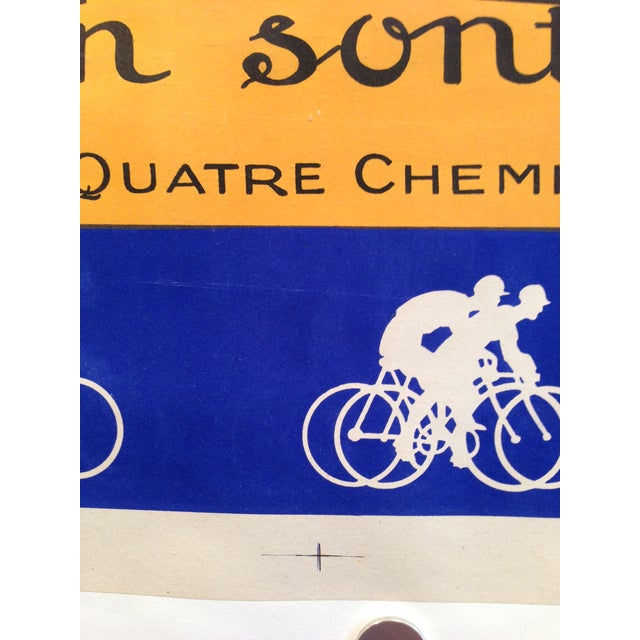 Vintage French L'Inder Bike Poster - Image 8 of 8