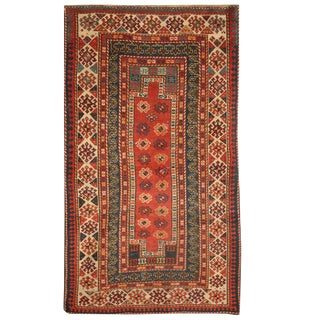 Antique Caucasian Kazak Rug For Sale