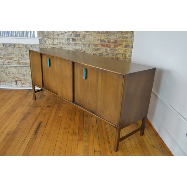 Enamel Ray Sabota for Mt. Airy Furniture Mid Century Modern Sideboard For Sale - Image 7 of 7