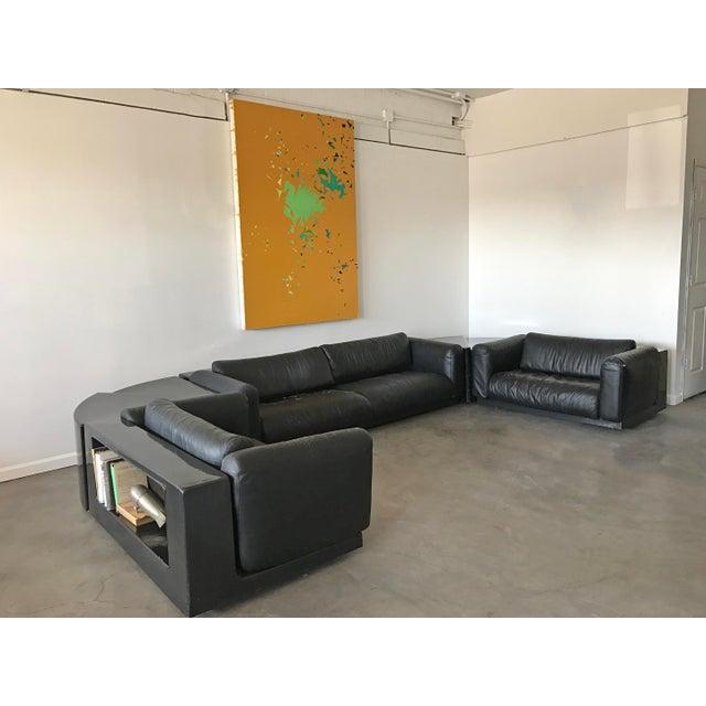 Mid-Century Modern Cini Boeri For Gavina Knoll Gradual Sectional Sofa System - Set of 5 For Sale - Image 3 of 10