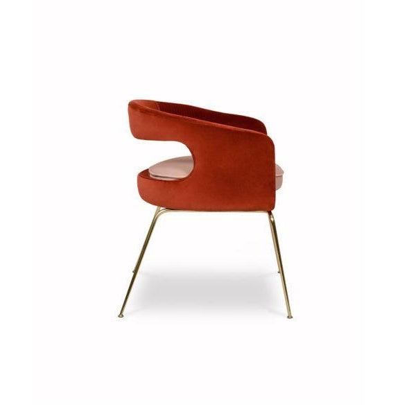 Modern Covet Paris Ellen Dining Chair For Sale - Image 3 of 7